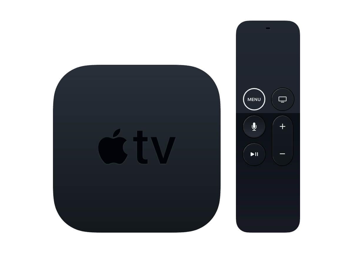Apple TV Sketch Mockup