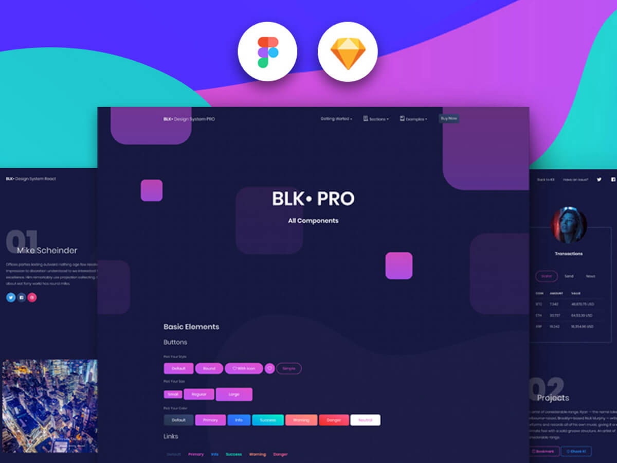 BLK Design System Pro for Sketch