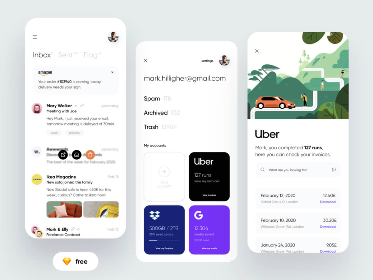 Email Buddy App for Sketch