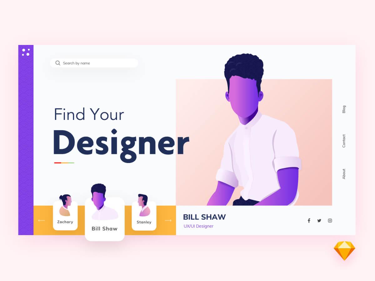 Find Your Designer App for Sketch
