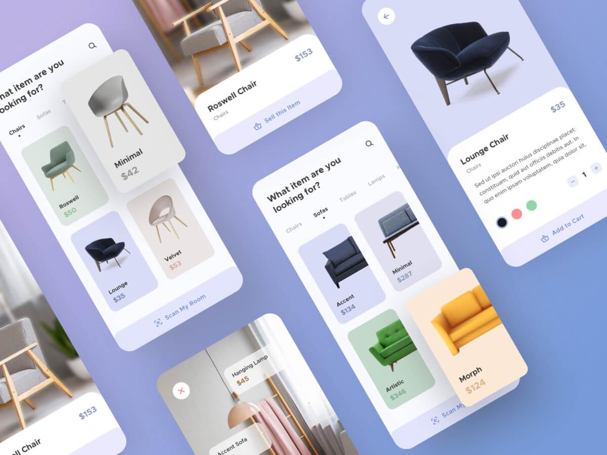 Furniture Sketch App