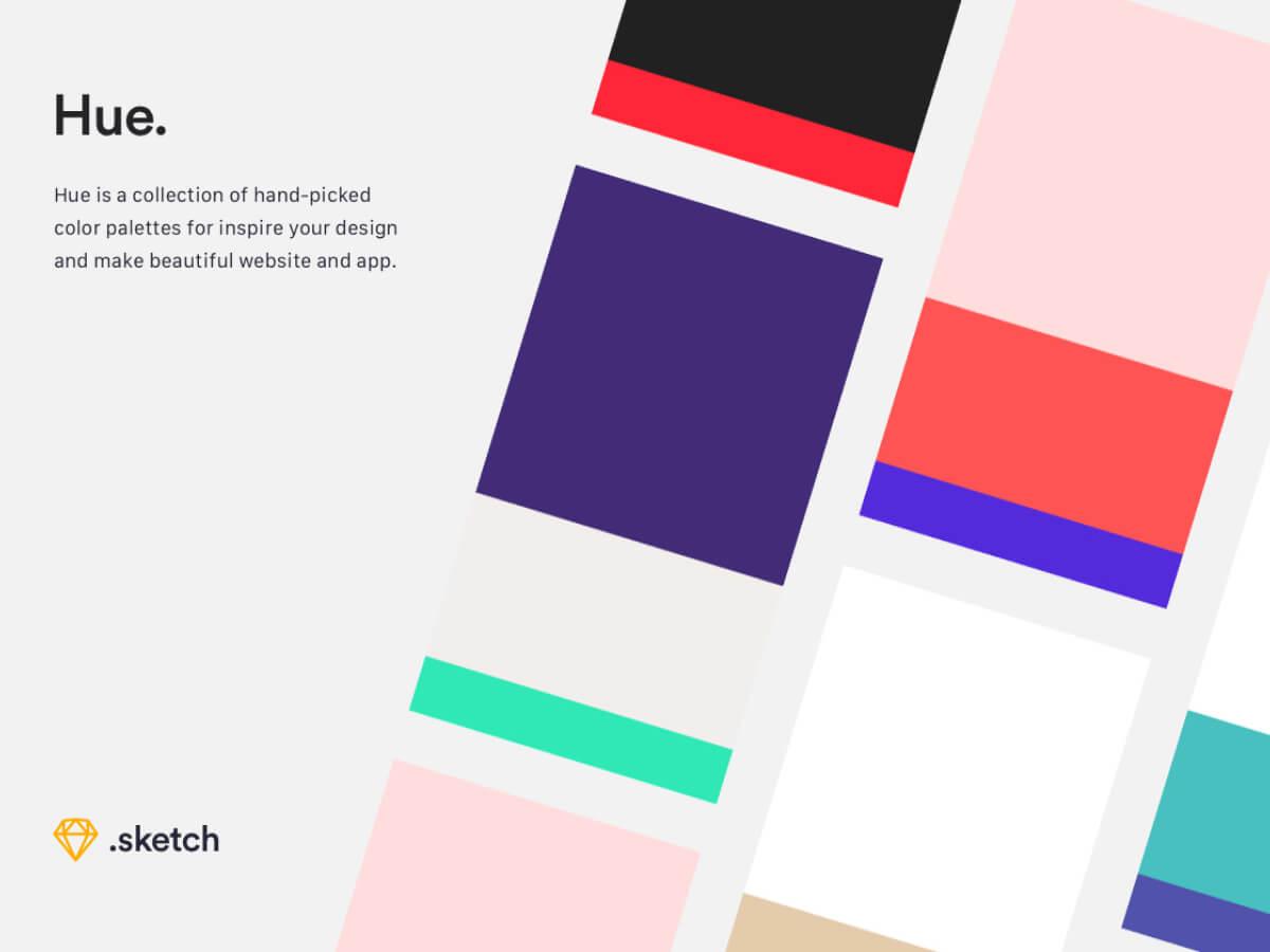 Hue Color Palettes for Sketch