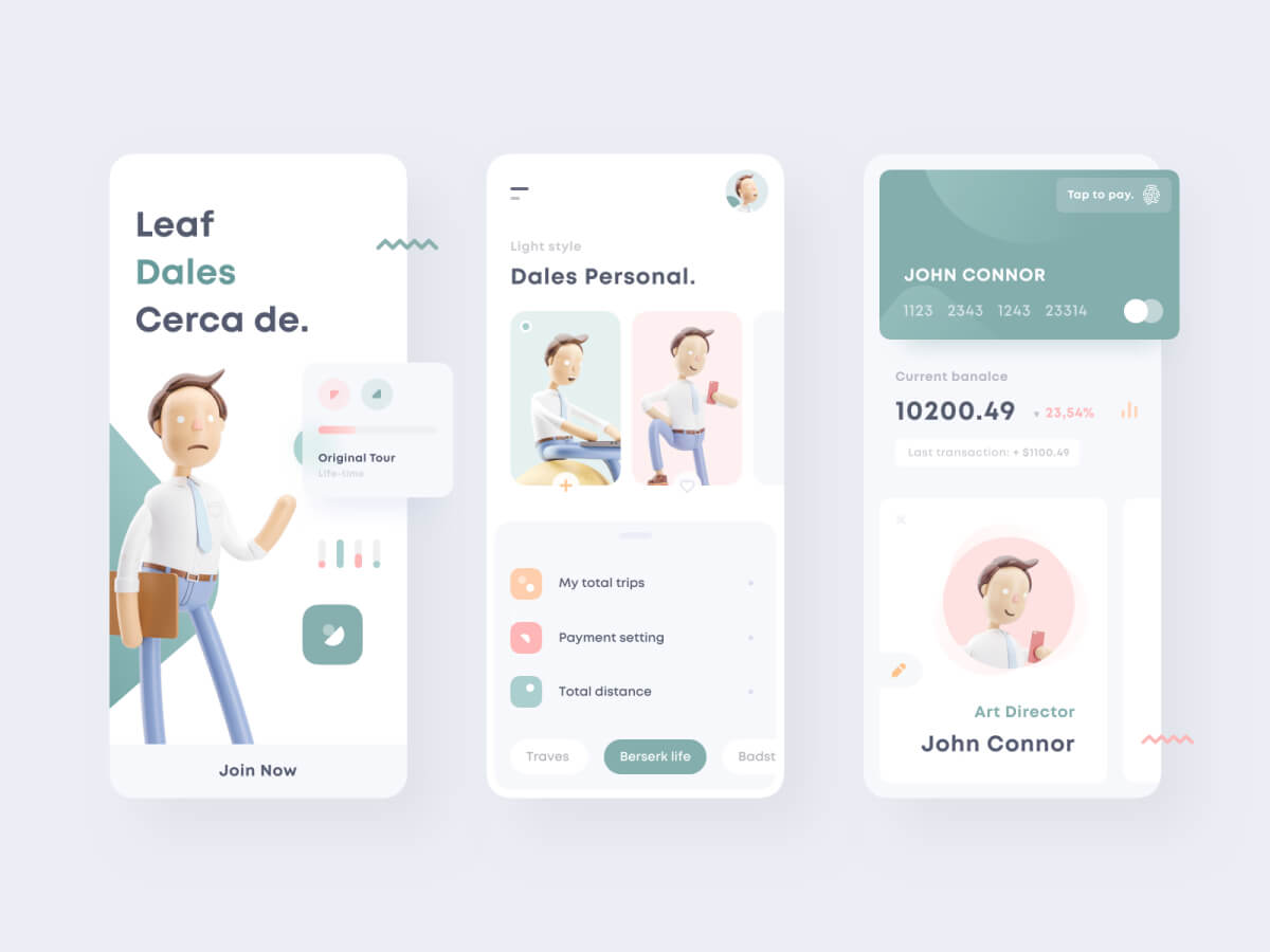 Personal Dashboard Design Concept for Sketch