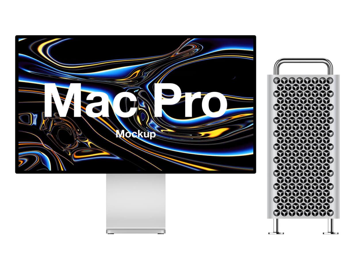Mac Pro Sketch Mockup