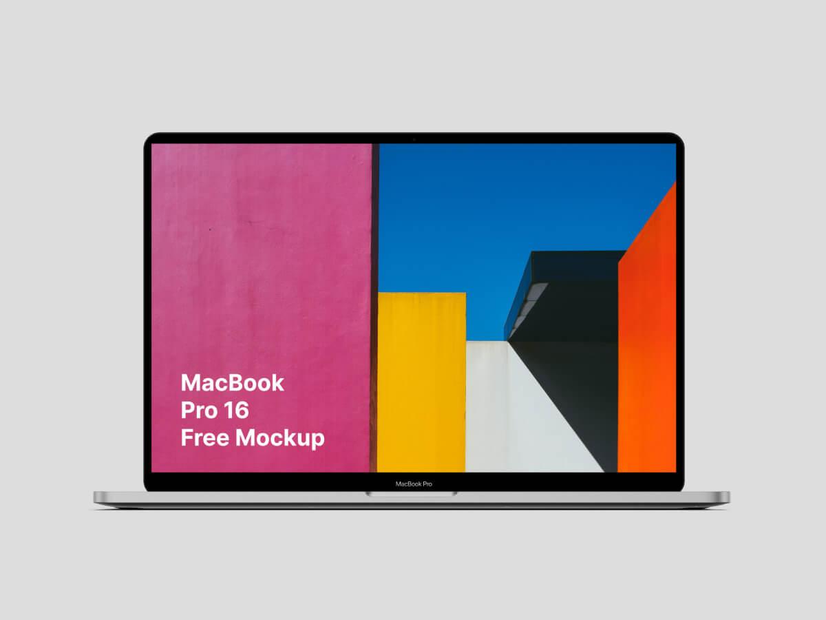 MacBook Pro 16'' Sketch Mockup