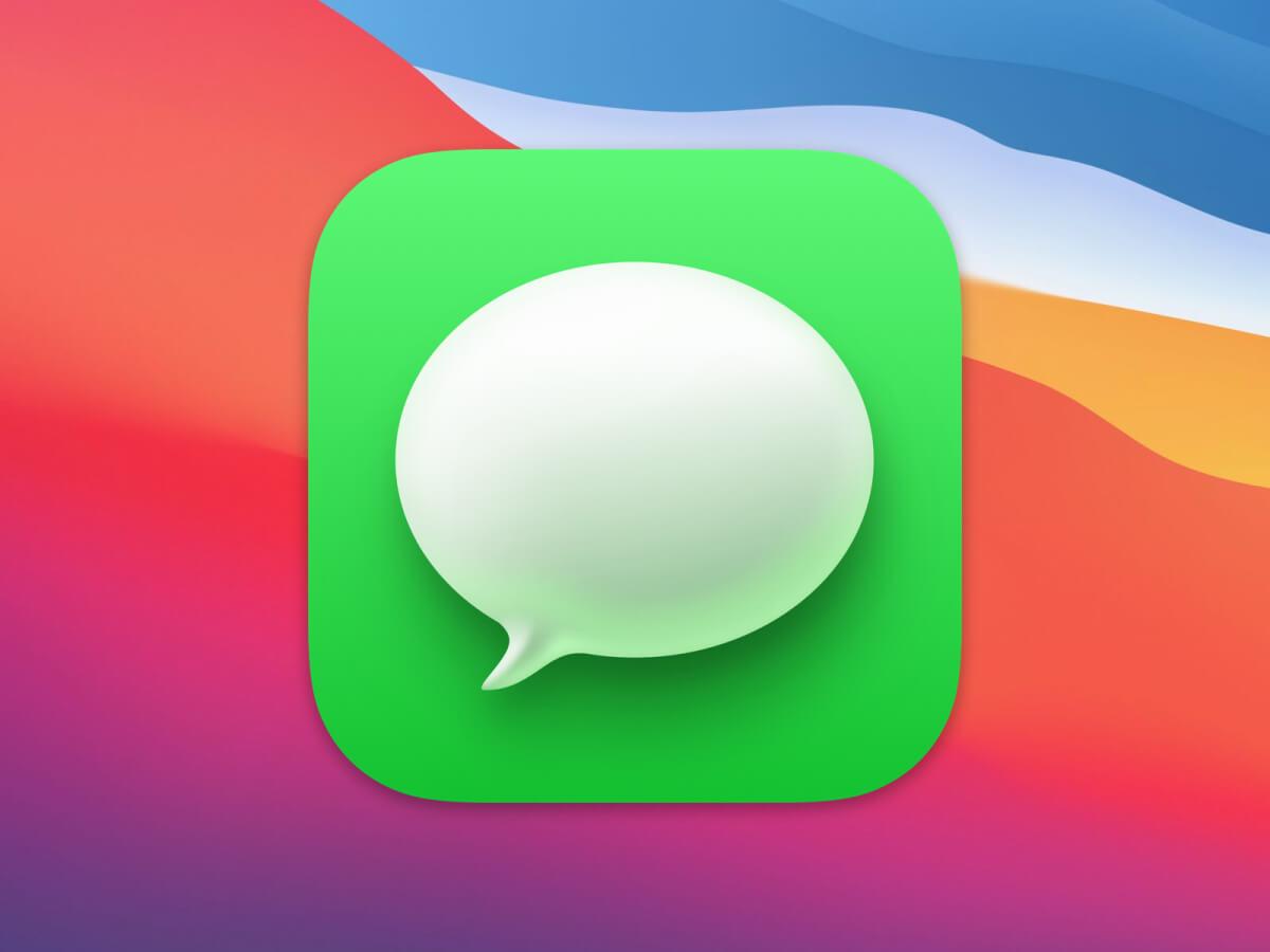 macOS Big Sur Message Icons for Sketch