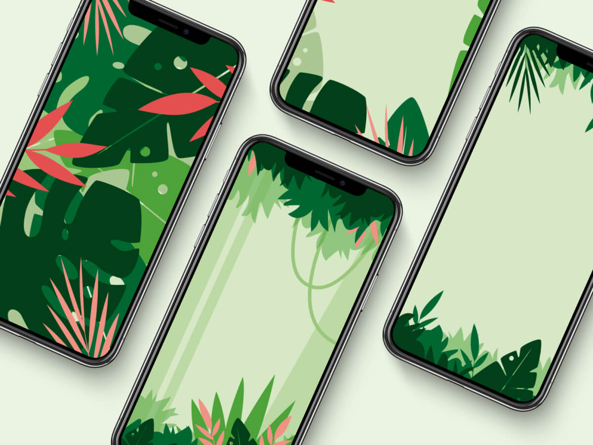 Mobile Backgrounds for Sketch