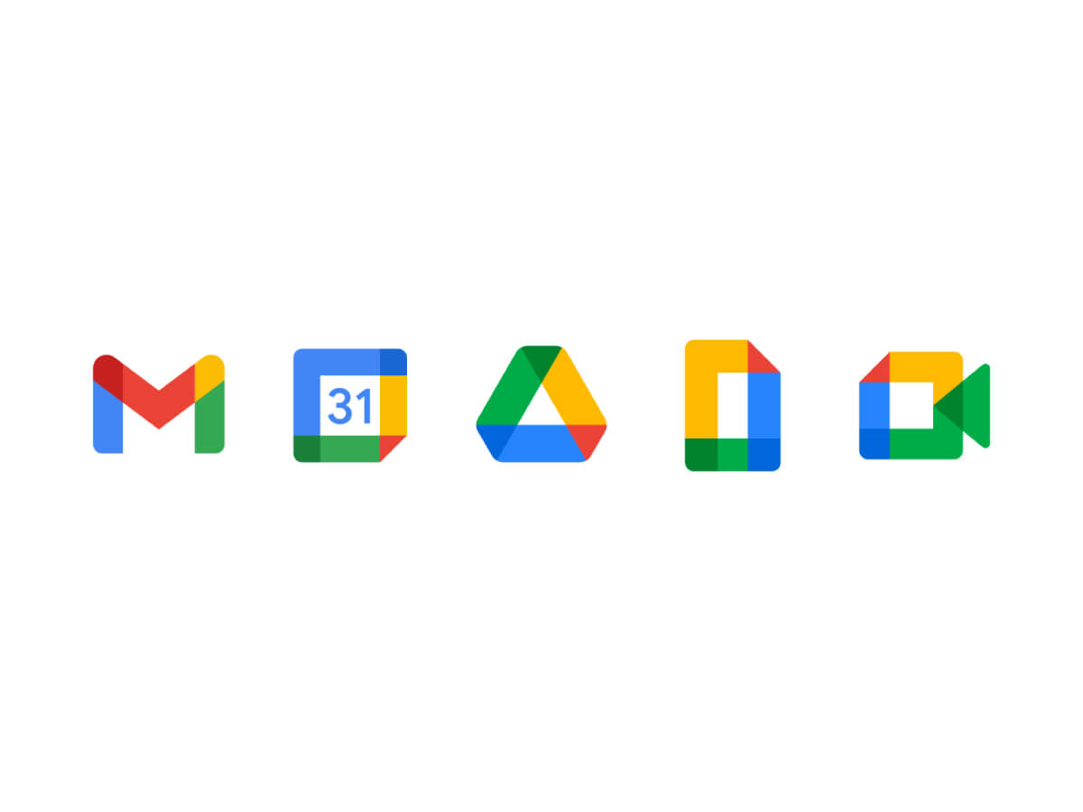 New Google Icons Sketch File