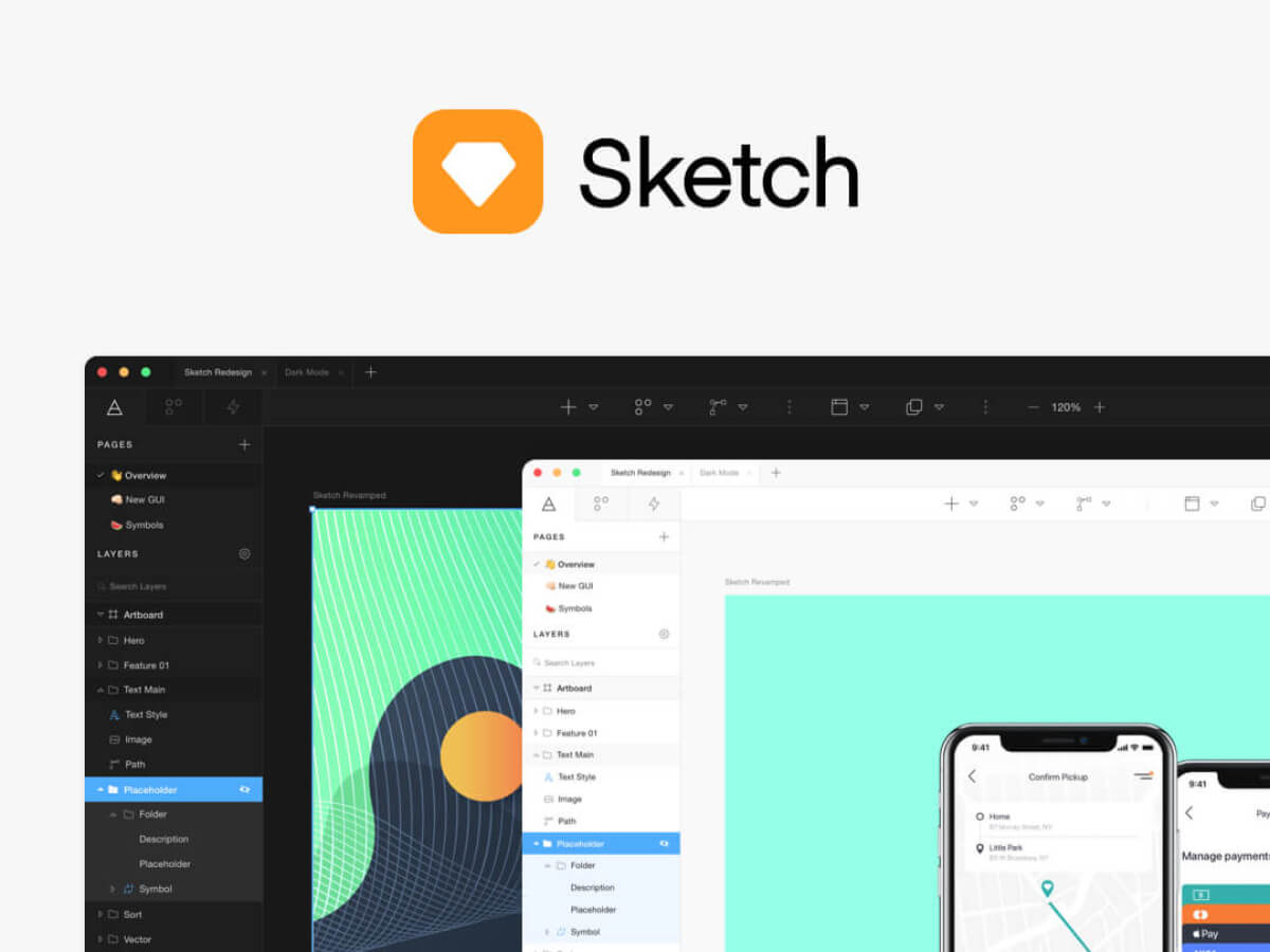 Ride Booking App for Sketch