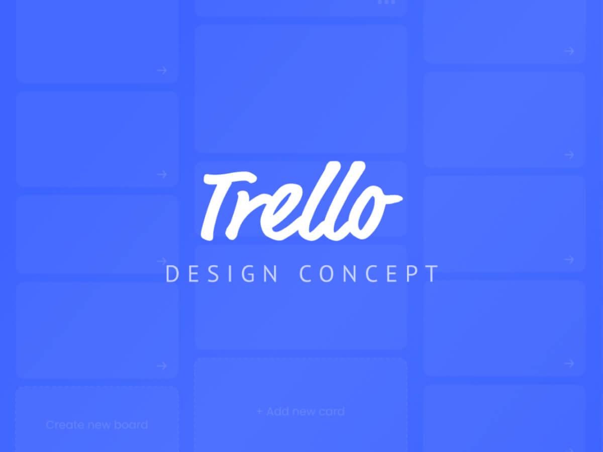 Trello Redesign Concept for Sketch