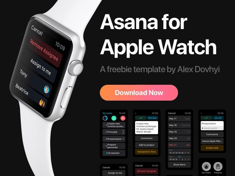 Asana Apple Watch