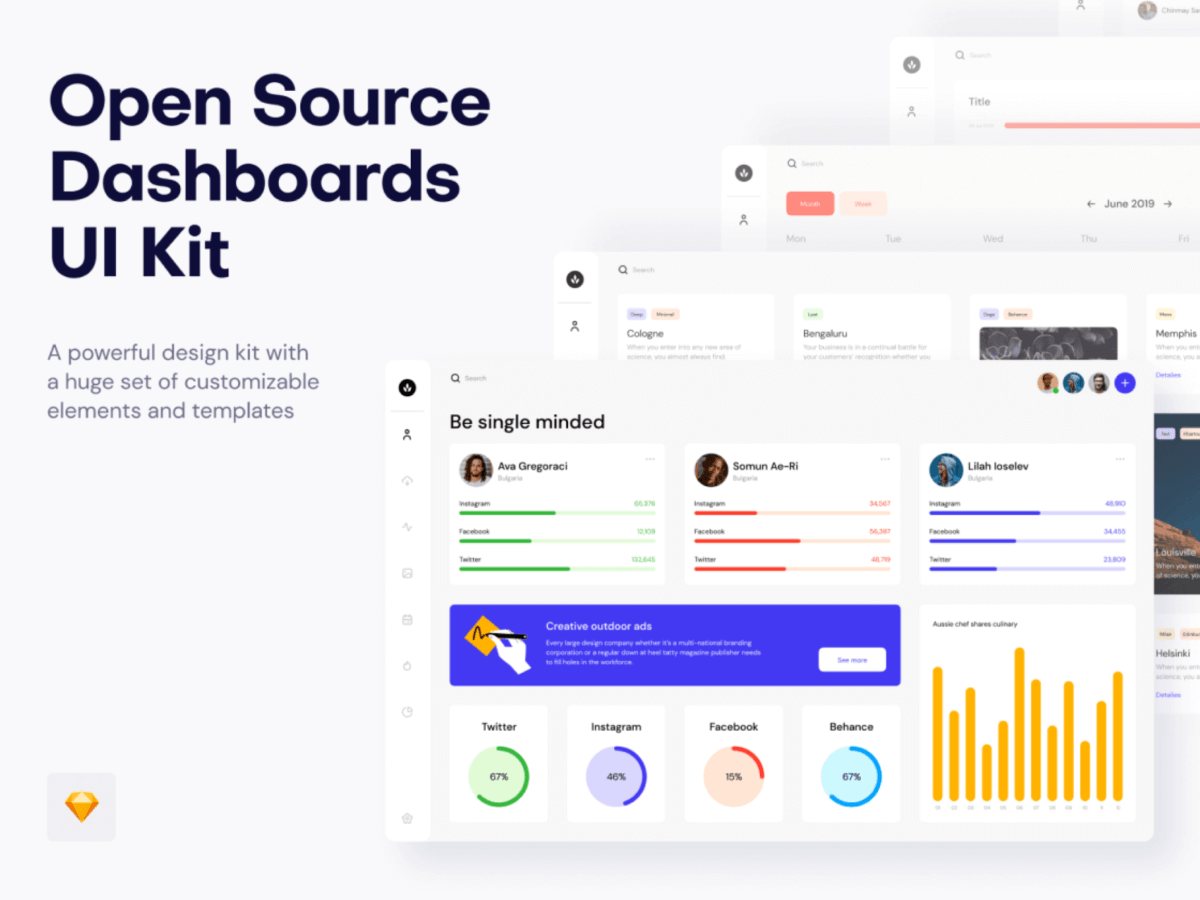 Open Source Dashboard