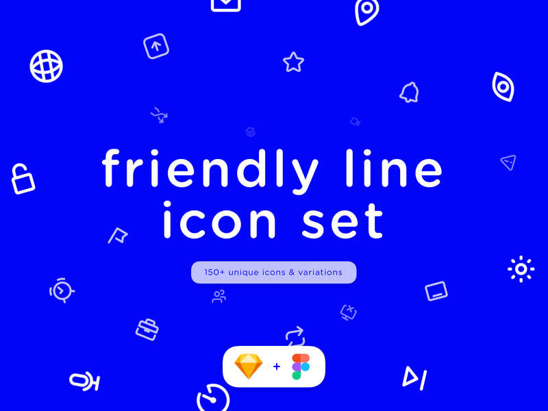 Friendly Icon Set