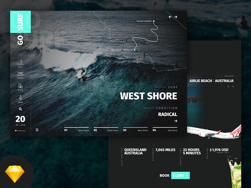 Go Surf Website